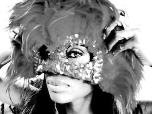 celebrate- Holloween  wearing mask