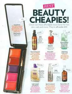 primp beauty cheapies