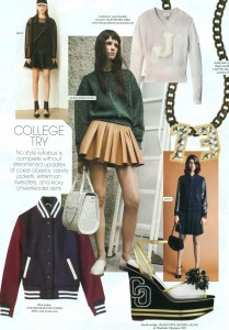 trends- back to college