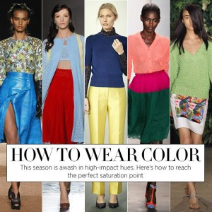 wear- color trends