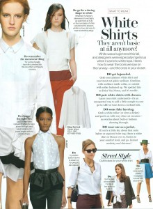 wear- transitional white shirts